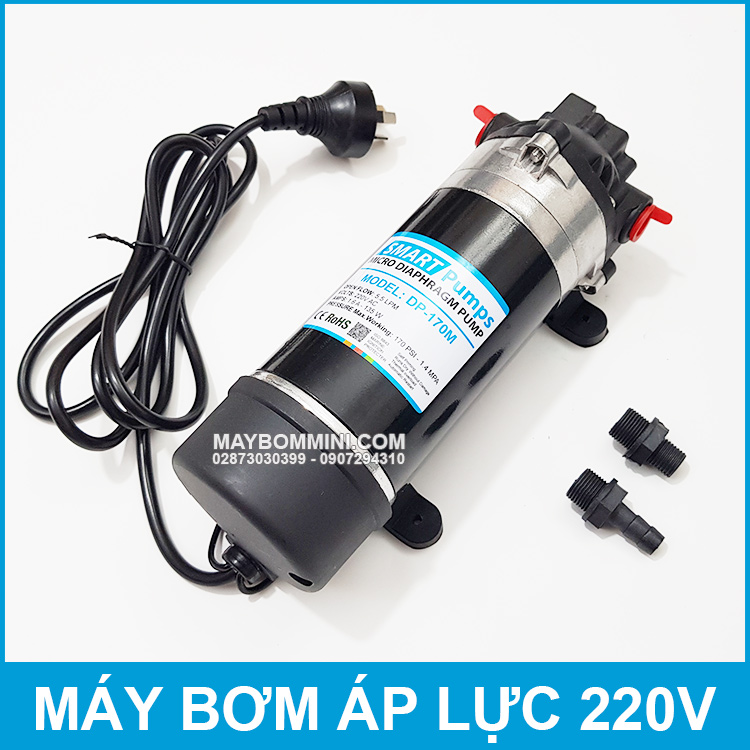 Ban May Bom Nuoc Mini Tu Dong 220V 170M