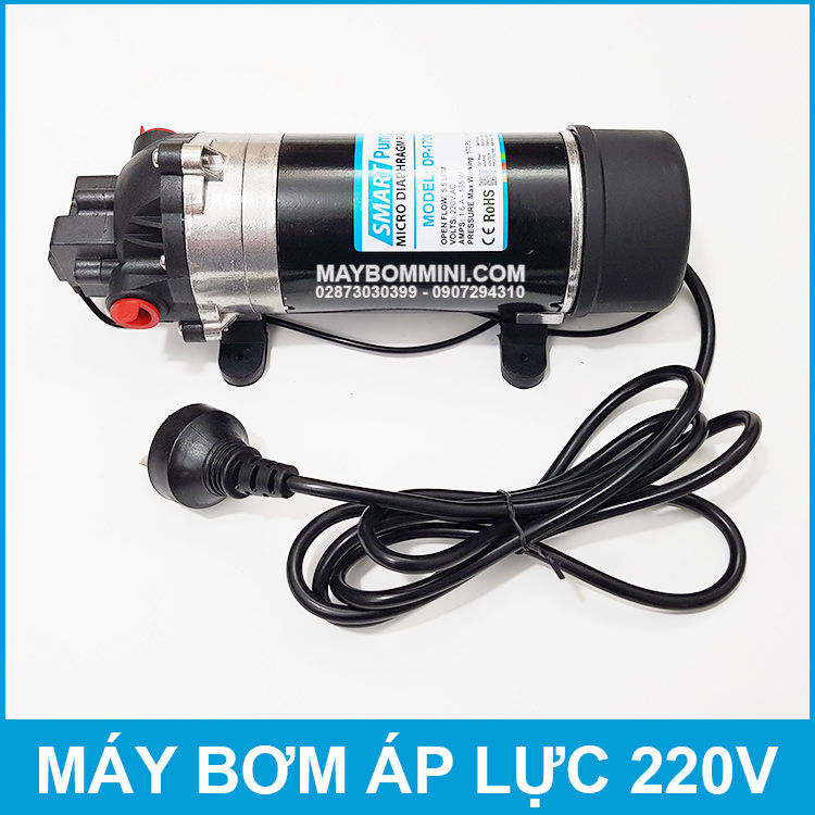 May Bom Ap Luc Mini Smartpumps 220V 135W 170M Cao Cap