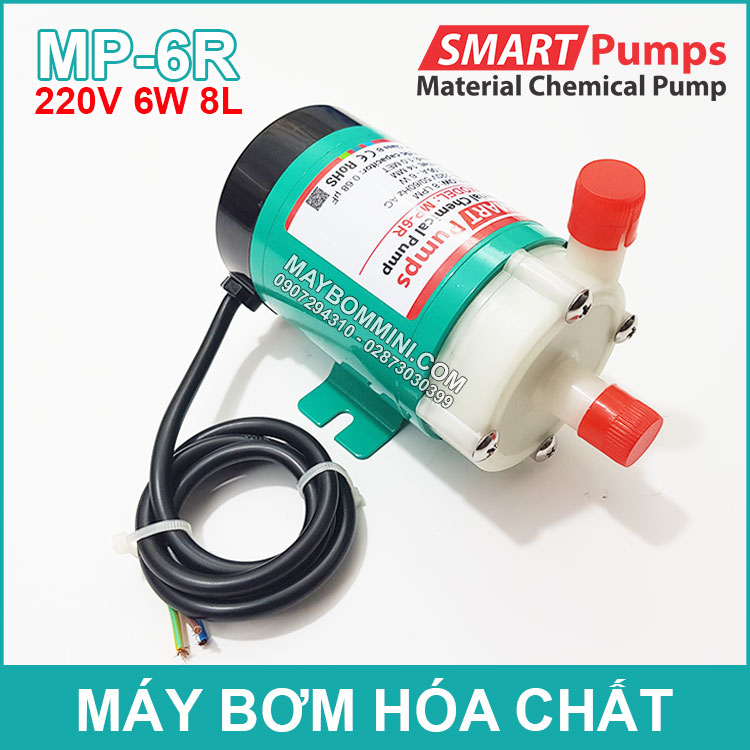 May Bom Hoa Chat 220V 6W 8L MP 6R SMARTPUMPS