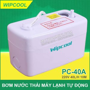 May Bom Nuoc Thai May Lanh Tu Dong Wipcool 40A