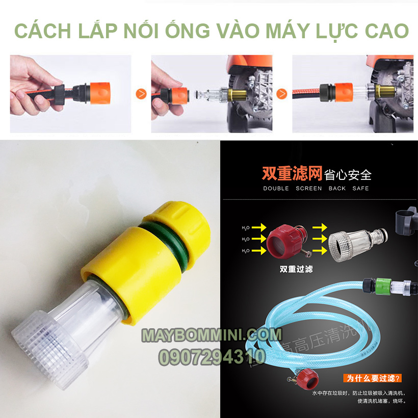 Cachh Lap Noi Ong Nuoc Vao May Ap Luc Cao