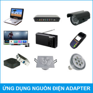 Ung Dung Adapter Nguon Dien 12V