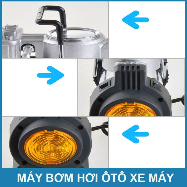 Thiet Den Cho May Bom Hoi Mini 12v