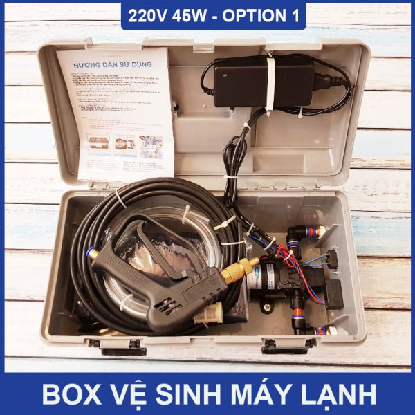 Box Ve Sinh May Lanh Ap Luc Mini 45W