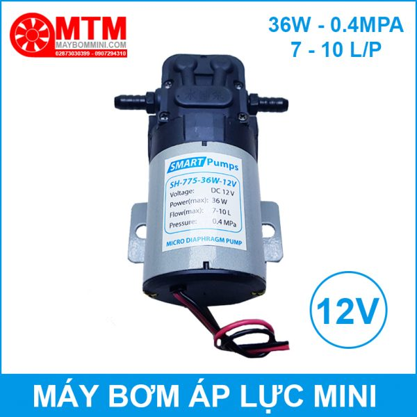 May Bom Ap Luc Mini 12v Sh 775