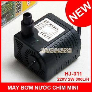 May Bom Nuoc Chim Mini HJ 311