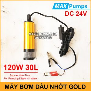 May Bom Dau Nhot 24V 30L DO GOLD