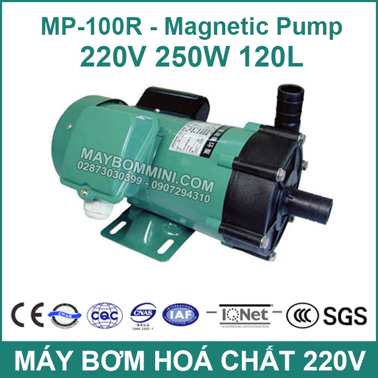 MP 100R Plastic Low Pressure Water Pump Acid Resistance Micro Magnetic Pump