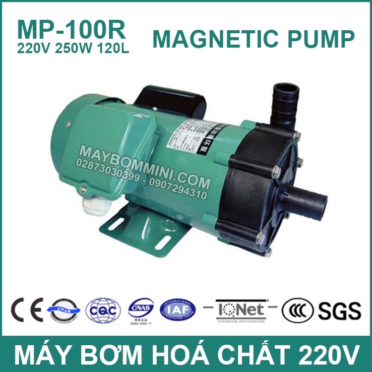May Bom Hoa Chat 220V MP 100R