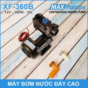 May Bom Nuoc Day Cao 12V 35L 25M 360B MAXPUMS