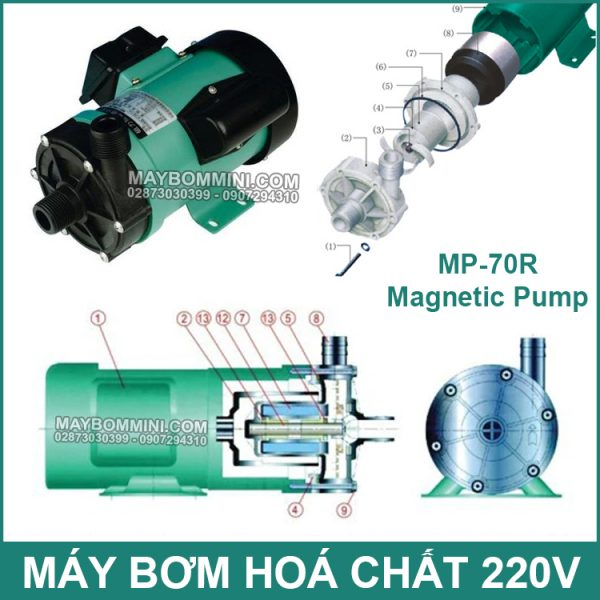Cau Tao May Bom Hoa Chat MP 70R 220V