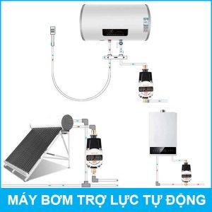 Lap Dat May Bom Tro Luc Nuoc Gia Dinh