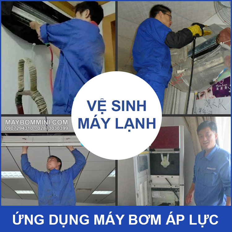 Ung Dung May Bom Ap Luc Mini 12v
