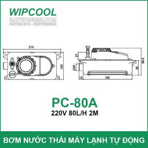 Kich Thuoc May Wipcool PC 80A