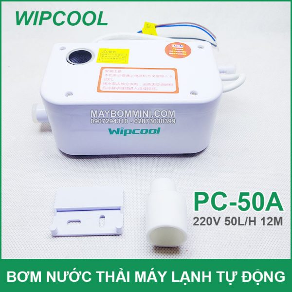 May Bom Nuoc Thai May Lanh Tu Dong Wipcool 50A