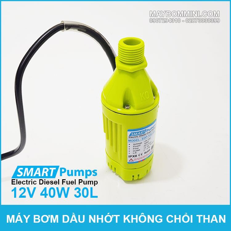 May Bom Dau DO 12V Khong Choi Than